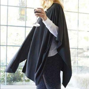 NWOT Black wrap sweater